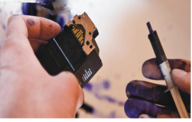 Service imprimante desfundare cartuse cerneala