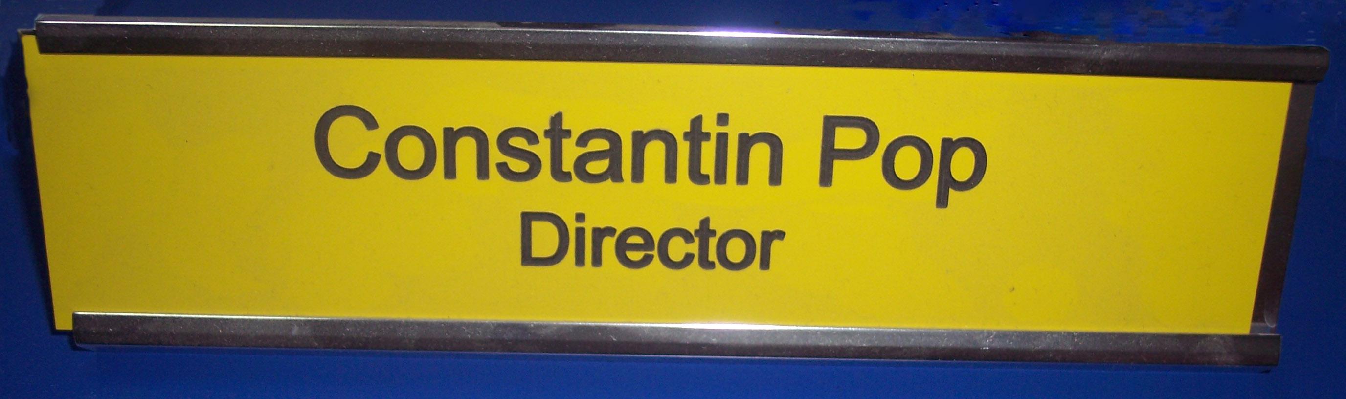 placa indicatoare director, placa director