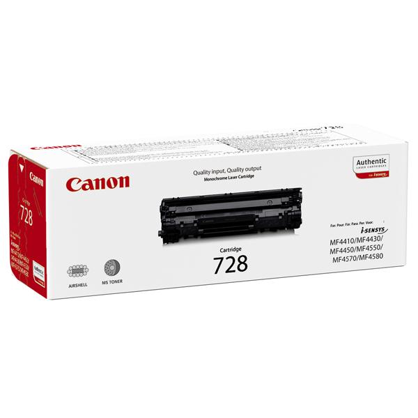 reincarcare cartus toner canon 728 - canon mf-4410,4430,4450,4550,4570,4580