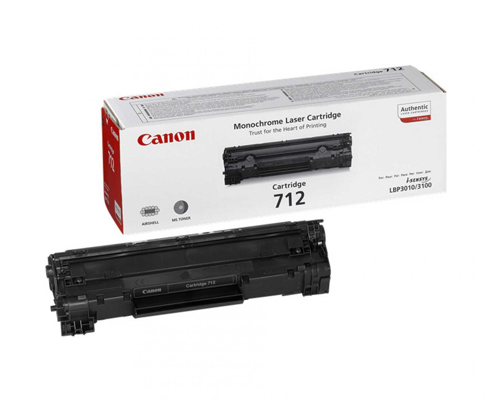 reincarcare cartus toner CRG-712 - pentru imprimante laser CANON LBP3010, LBP3100.
