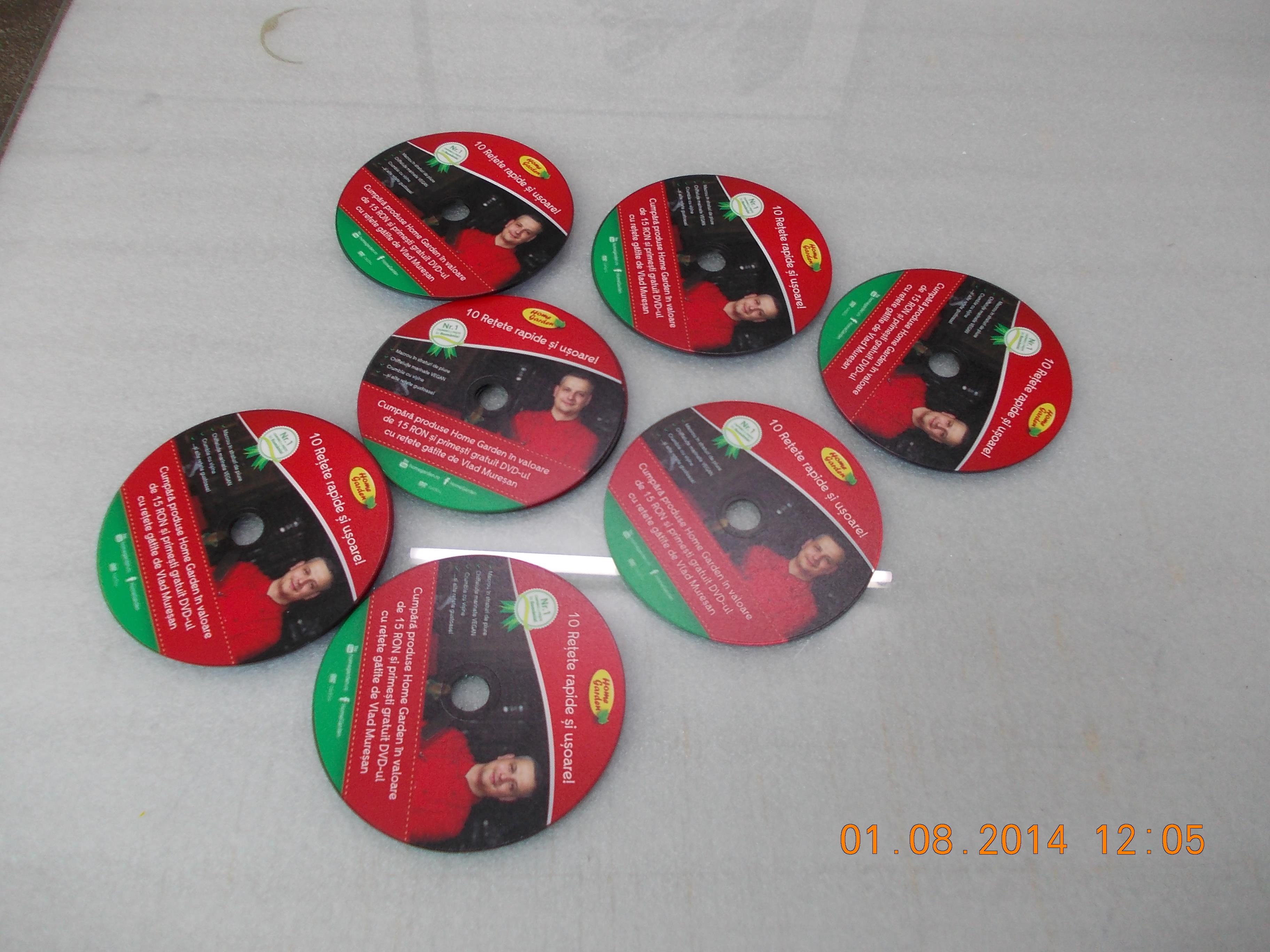 personalizare cd sau dvd campanie